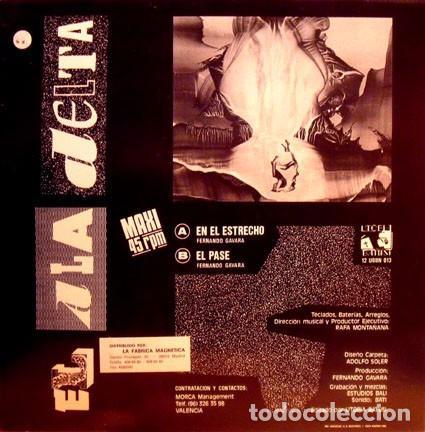 Discos de vinilo: EL ALA DELTA MAXI LP 1989 SEGURIDAD SOCIAL - Foto 2 - 76050375