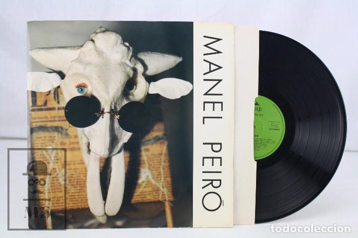 DISCO LP DE VINILO - MANEL PEIRÓ. ENMIG DEL JOC - FIORE DISC, 1984 (Música - Discos - LP Vinilo - Solistas Españoles de los 70 a la actualidad)