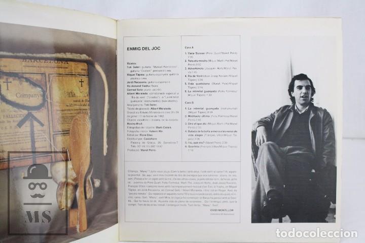 Discos de vinilo: Disco LP de Vinilo - Manel Peiró. Enmig del Joc - Fiore Disc, 1984 - Foto 3 - 76077015