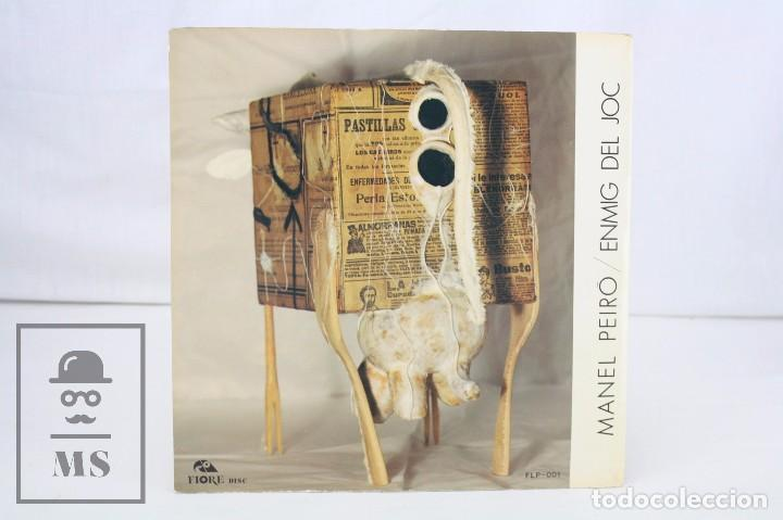 Discos de vinilo: Disco LP de Vinilo - Manel Peiró. Enmig del Joc - Fiore Disc, 1984 - Foto 4 - 76077015
