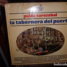 Discos de vinilo: LA TABERNERA DEL PUERTO - PABLO SOROZABAL . CON ALFREDO KRAUS... DOBLE DISCO DE VINILO. . Lote 76077987