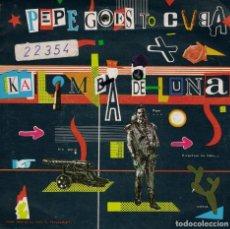 Disques de vinyle: PEPE GOES TO CUBA - KALIMBA DE LUNA / REFLEJOS DEL SOL (SINGLE ESPAÑOL DE 1984). Lote 76080435