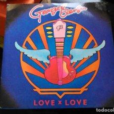 Discos de vinilo: SINGLE GEORGE BENSON - LOVE X LOVE - WB UK 1980 VG+. Lote 76086327