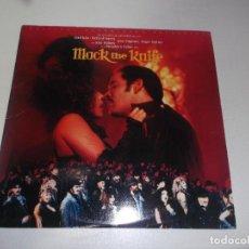 Discos de vinilo: MACK THE KNIFE BSO 1989. Lote 76088315