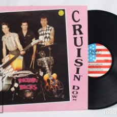 Discos de vinilo: DISCO LP DE VINILO - THE RAZORBACKS. CRUISIN' DOWN - FURY RECORDS, 1990. Lote 76092099