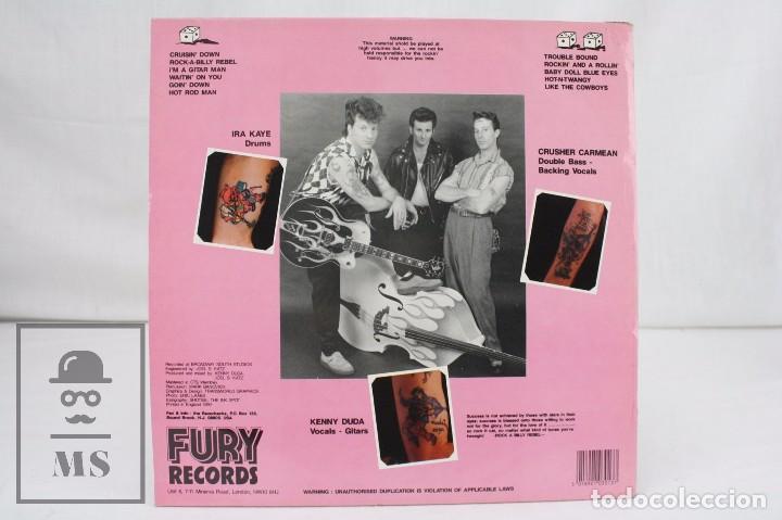 Discos de vinilo: Disco LP de Vinilo - The Razorbacks. Cruisin Down - Fury Records, 1990 - Foto 3 - 76092099