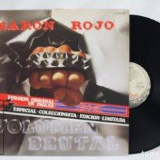 Discos de vinilo: DISCO LP VINILO - BARÓN ROJO. VOLUMEN BRUTAL. EDICIÓN ESPECIAL LIMITADA - INGLÉS - SERDISCO, 1982. Lote 76108355