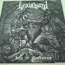 Discos de vinilo: GRAVEYARD?– INTO THE MAUSOLEUM- ANTICHRISTIAN FRONT RECORDS ?– AFR 008-DEATH METAL-N. Lote 182391585
