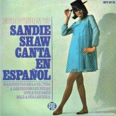 Discos de vinilo: SANDIE SHAW - MARIONETAS EN LA CUERDA - EP - EUROVIDION 67. Lote 76118475