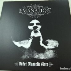Discos de vinilo: EMANATION ?– UNDER MAGNETIC SLEEP-BLACK MASS RECORDS-BLACK METAL-N. Lote 76119091