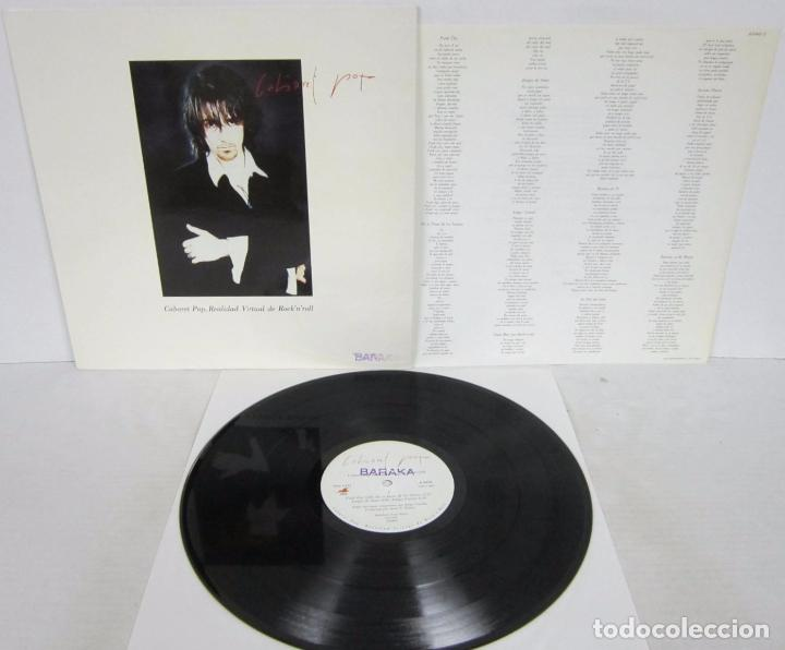 CABARET POP - REALIDAD VIRTUAL DE ROCK N ROLL - LP - GASA 1992 LOS DARTON CON LETRAS (Música - Discos - LP Vinilo - Grupos Españoles de los 90 a la actualidad)
