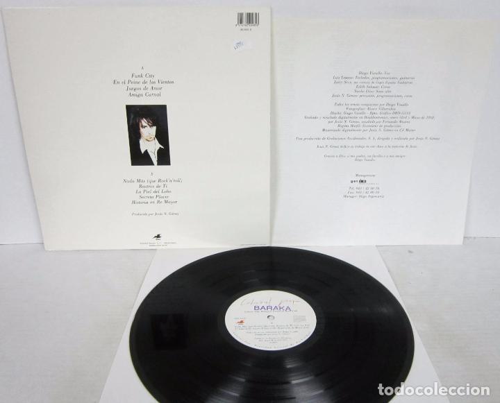 Discos de vinilo: CABARET POP - REALIDAD VIRTUAL DE ROCK N ROLL - LP - GASA 1992 LOS DARTON CON LETRAS - Foto 3 - 76120419