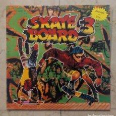 Discos de vinilo: LP SKATE BOARD 3 - DOBLE LP - BLANCO Y NEGRO 1991.. Lote 76145779