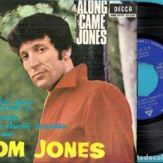 Discos de vinilo: TOM JONES: ALONG CAME JONES: WHAT´S NEW PUSSYCAT? / THE ROSE / WITH THESE HANDS / UNTRUE. Lote 76163479