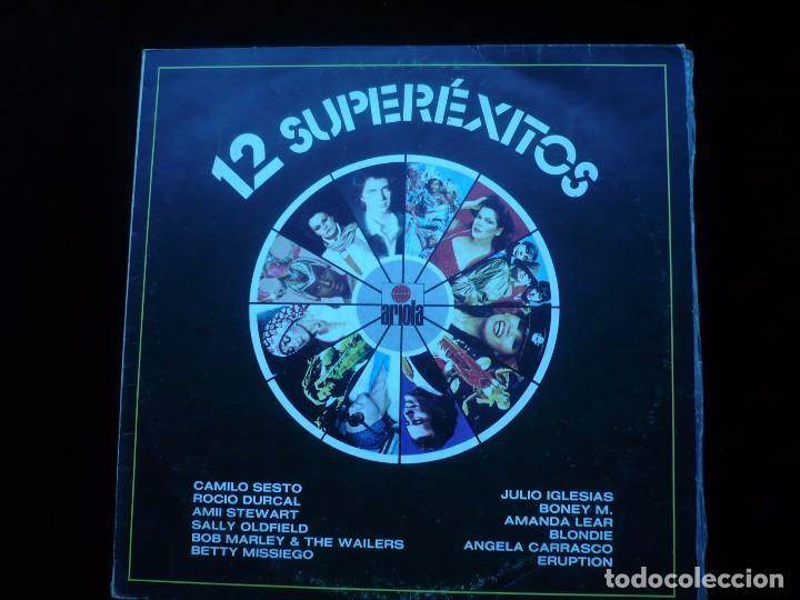 12 SUPEREXITOS (Música - Discos - LP Vinilo - Grupos Españoles de los 70 y 80)