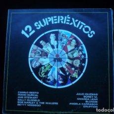 Discos de vinilo: 12 SUPEREXITOS. Lote 76178723