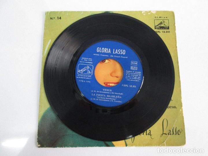 Discos de vinilo: GLORIA LASSO. DISCO VINILO. DISCOGRAFICA LA VOZ DE SU AMO, 1959. DISCO VINILO. VER FOTOGRAFIAS - Foto 4 - 76184587
