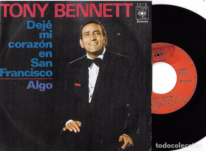 Resultado de imagen de Tony Bennett - Lp: 'I left my heart in San Francisco'