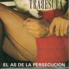 Discos de vinilo: TRABESURA - EL AS DE LA PERSECUCION / ESPERO (SINGLE PROMO ESPAÑOL DE 1990). Lote 76205987