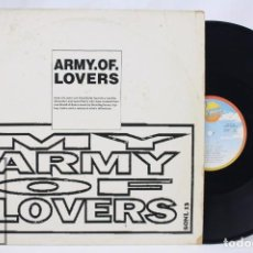 Discos de vinilo: DISCO MAXI SINGLE DE VINILO - ARMY OF LOVERS. MY ARMY OF LOVERS - SANNY RECORDS, 1991. Lote 76213179