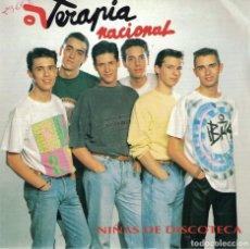 Discos de vinilo: TERAPIA NACIONAL - LOCO POR TI (SINGLE PROMO ESPAÑOL DE 1992). Lote 76214263