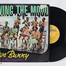 Discos de vinilo: DISCO MAXI SINGLE DE VINILO - JIVE BUNNY AND THE MASTERMIXERS. SWING THE MOOD - BOY RECORDS, 1989. Lote 76215307