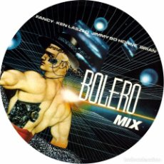 Discos de vinilo: BOLERO MIX - LP PICTURE DISC LIMITED EDITION. Lote 211267724