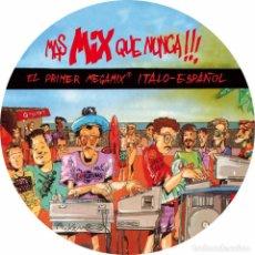 Discos de vinilo: MAS MIX QUE NUNCA... -PICTURE DISC LIMITED EDITION. Lote 211267776