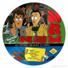 Discos de vinilo: MAX MIX EXPANDED & REMASTERED - LP PICTURE DISC LIMITED EDITION. Lote 211267757