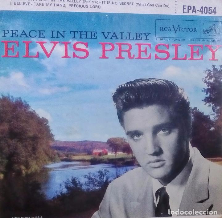ELVIS PRESLEY - PEACE IN THE VALLEY (ORIGINAL USA 1958) (EPA-4054) (Música - Discos de Vinilo - EPs - Pop - Rock Extranjero de los 50 y 60)