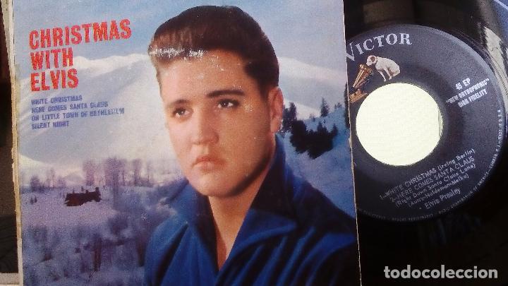 Discos de vinilo: ELVIS PRESLEY - CHRISTMAS WITH ELVIS (ORIGINAL USA) (EPA-4340) - Foto 3 - 76247847