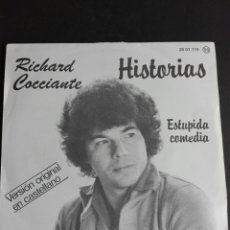 Discos de vinilo: RICHARD KOCH ANTE HISTORIAS VERSIÓN ORIGINAL CASTELLANO DISTRIBUYE PULIDOR. Lote 76250883