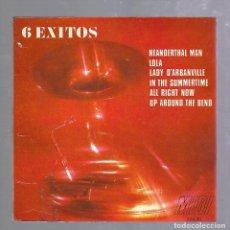 Discos de vinilo: SINGLE. 6 EXITOS. NEANDERTHAL MAN / LOLA / LADY D'ARBANVILLE. MIDI. Lote 76277143