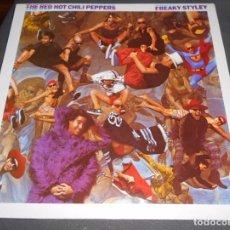 Discos de vinilo: RED HOT CHILI PEPPERS --- FREAKY STYLEY // COMO NUEVO. Lote 79876222