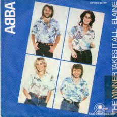Vinyl records - ABBA - THE WINNER TAKES IT ALL - SINGLE - 76291643