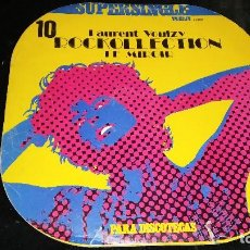 Discos de vinilo: FUNDA VACÍA DE SUPERSINGLE PARA DISCOTECAS (LAURENT VOULZY: ROCKCOLLECTION / LE MIROIR) - RCA, 1977 . Lote 76294863