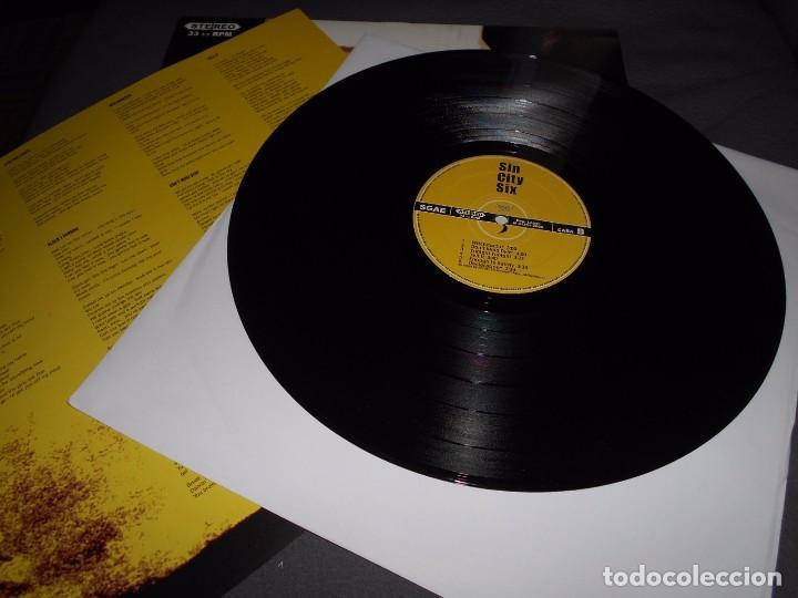 Discos de vinilo: SIN CITY SIX --- SIN CITY SIX // Letras canciones // COMO NUEVO - Foto 3 - 76295679