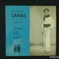 Discos de vinilo: RAIMUNDO LANAS JOTAS NAVARRAS LA CARRETERA LA FLOR + 3. Lote 76303159