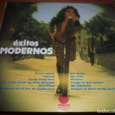 Discos de vinilo: LP DE VOCES UNIDAS, EXITOS MODERNOS. EDICION IMPACTO DE 1974. COMO NUEVO.. Lote 76342543