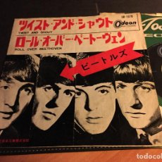 Discos de vinilo: THE BEATLES ( TWIST AND SHOUT / ROLL OVER BEETHOVEN) SINGLE JAPAN (EPI5) . Lote 76396135