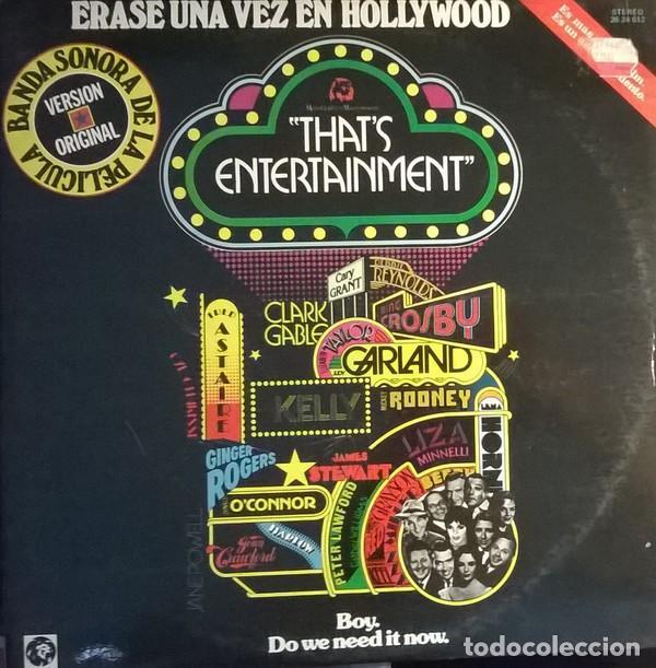 MUSIC FROM THE ORIGINAL MOTION PICTURE SOUNDTRACK-THAT'S ENTERTAINMENT, MGM RECORDS-26 24 012 (Música - Discos - LP Vinilo - Bandas Sonoras y Música de Actores )