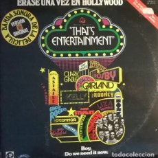Discos de vinilo: MUSIC FROM THE ORIGINAL MOTION PICTURE SOUNDTRACK - THAT'S ENTERTAINMENT, MGM RECORDS-26 24 012. Lote 76398559