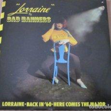 Discos de vinilo: BAD MANNERS - LORRAINE + 2 - SN - EDICION UK DEL AÑO 1980.. Lote 76411903