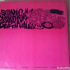 Discos de vinilo: SONIC YOUTH / LYDIA LUNCH - DEATH VALLEY 69 - 1985 - LP - USA. Lote 76412815