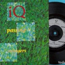 Discos de vinil: IQ: PASSING STRANGERS / NOMZAMO. Lote 76421199