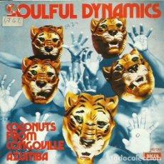 Discos de vinilo: SOULFUL DYNAMICS. SINGLE PROMOCIONAL. SELLO DECCA. EDITADO EN ESPAÑA. AÑO 1972. Lote 76489767