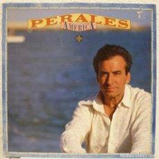 Discos de vinilo: JOSE LUIS PERALES - AMERICA (LP CBS/SONY 1991). Lote 76508231