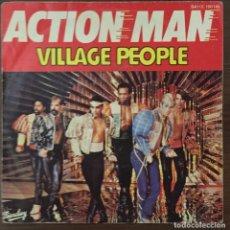 Discos de vinilo: VILLAGE PEOPLE - ACTION MAN. Lote 76509447