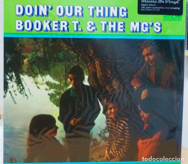 BOOKER T & THE MG'S * LP 180G AUDIOPHILE VINYL PRESSING * DOIN' OUR THING (Música - Discos - LP Vinilo - Funk, Soul y Black Music)