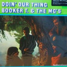 Discos de vinilo: BOOKER T & THE MG'S * LP 180G AUDIOPHILE VINYL PRESSING * DOIN' OUR THING. Lote 219665641